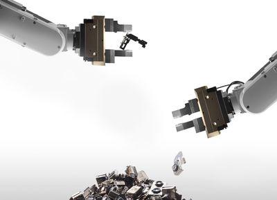appledaisyrecyclingrobot