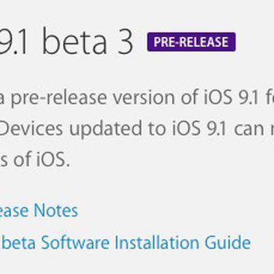 ios 9 1 beta 3