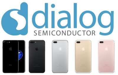 dialog semiconductor iphone