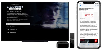 bandersnatch on apple tv