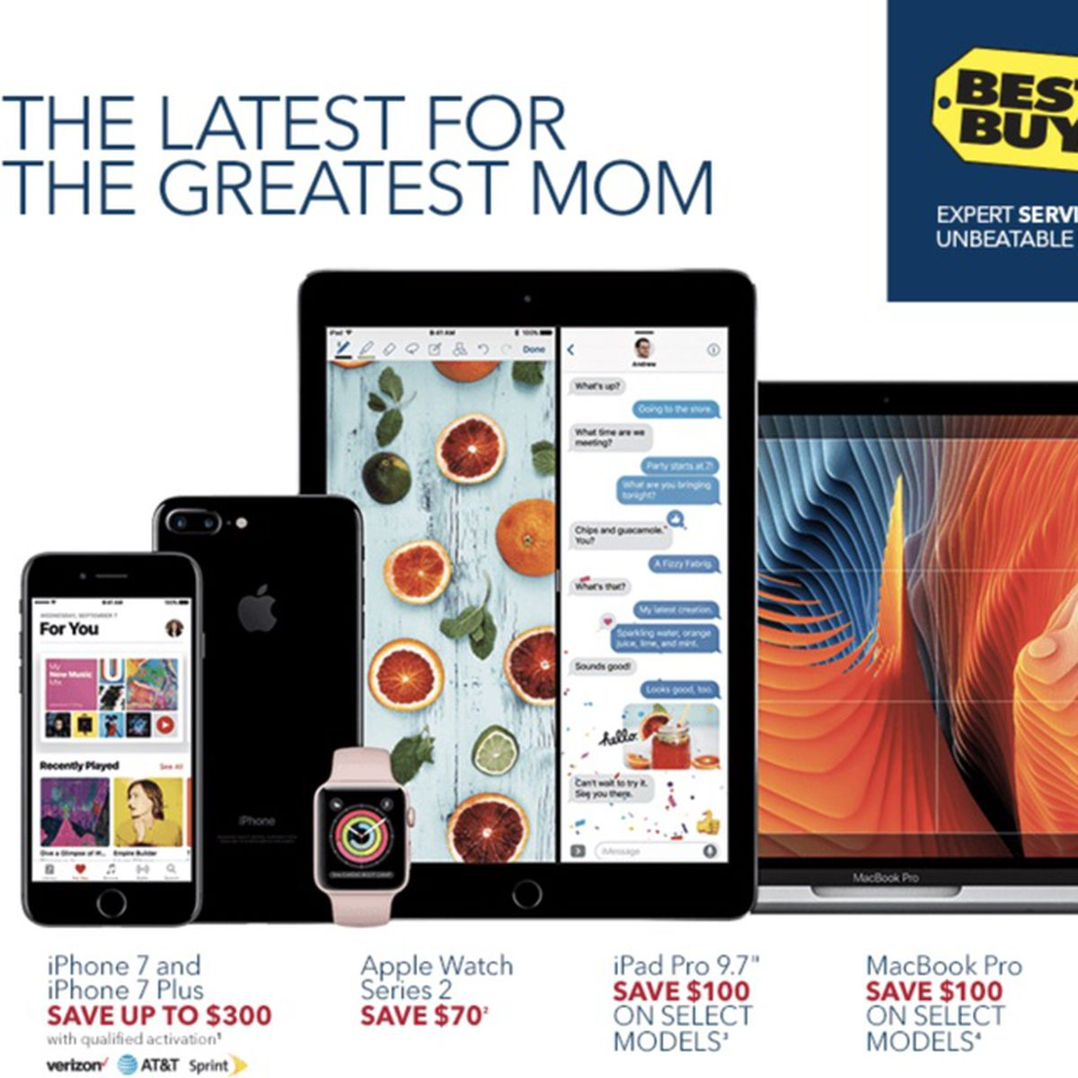 Best Buy Discounts Apple Watch Series 2 by $70, Drops iPad Pro Price by  $100 - MacRumors