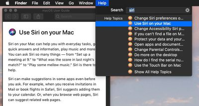 how to use macos help menu 2