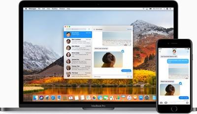 macOS High Sierra Messages iCloud