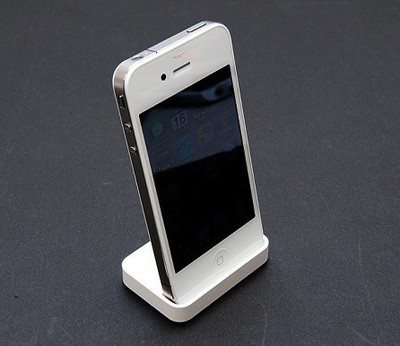 132255 white iphone 4 dock