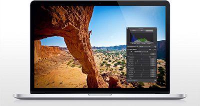 aperture macbook pro