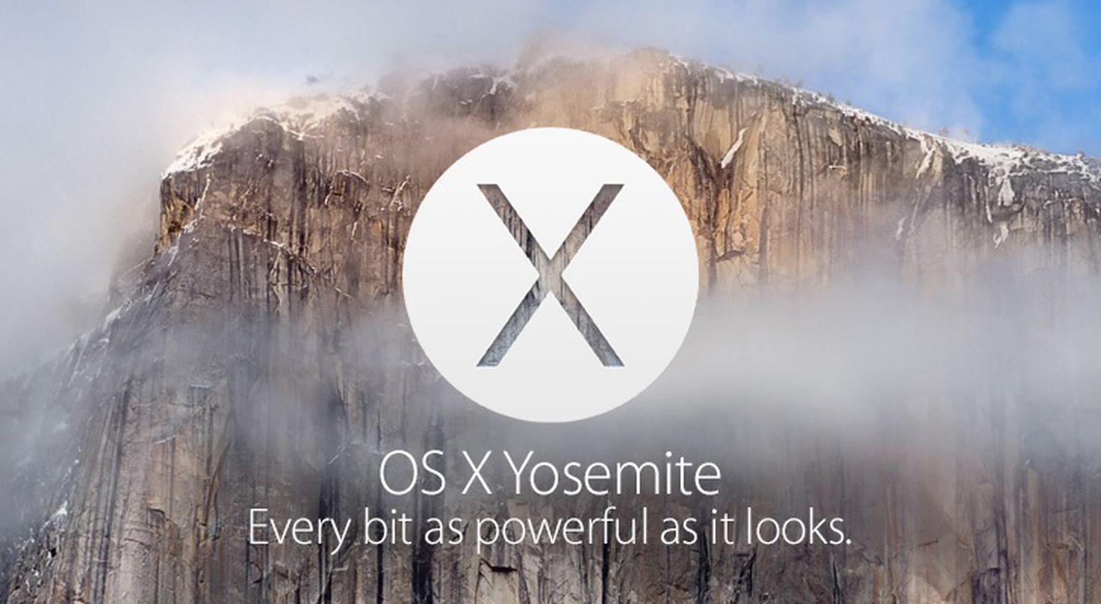 Mac App Store Os X Yosemite