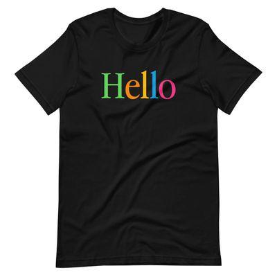 throwboy hello shirt