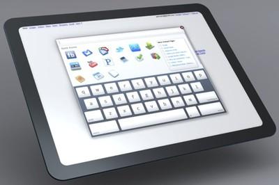 162438 chrome os tablet mockup
