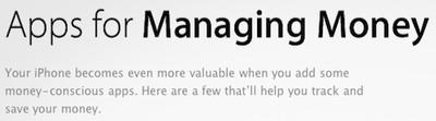 140237 apple managing money