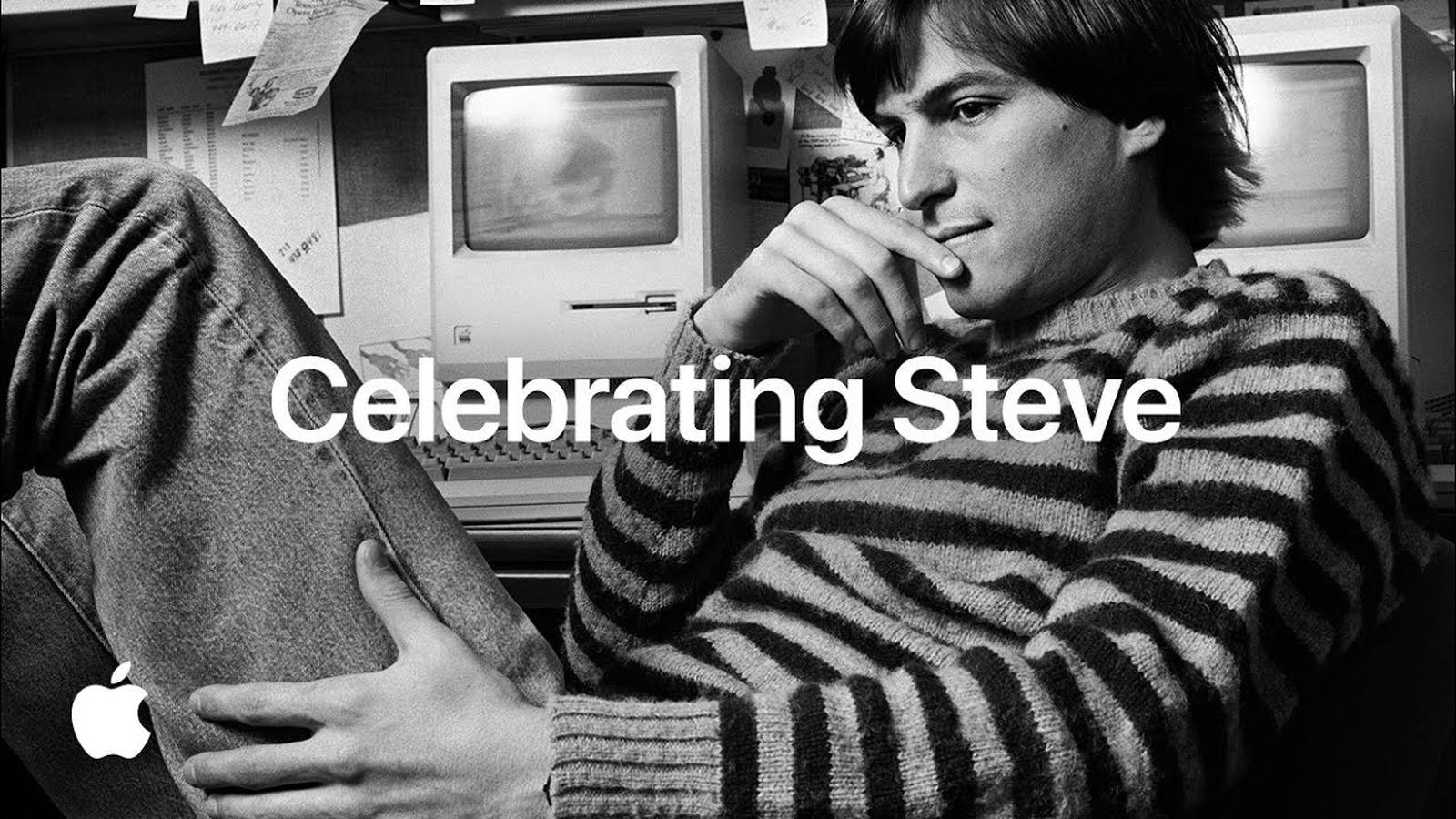 Apple Makes 'Celebrating Steve' Tribute Video Available on YouTube