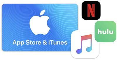 itunes gift card sale time