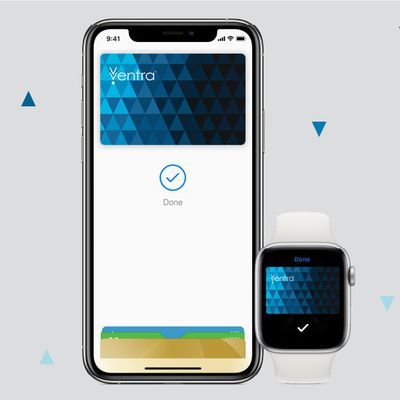 chicago ventra apple pay