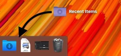 create a recent items folder 5