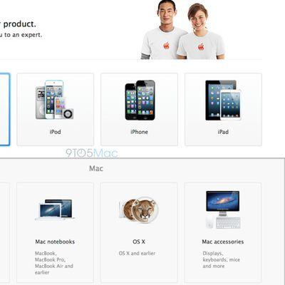 applecare website revamp