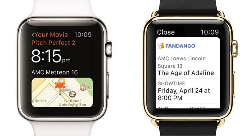 Fandango Apple Watch