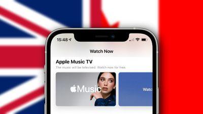 apple music tv uk canada