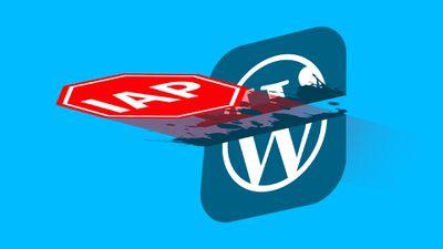 WordPressStoppedByIAP Feature