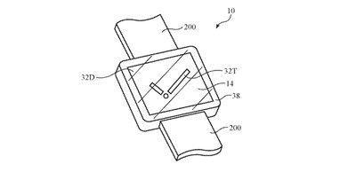 apple watch patent under display camera 1