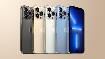 Το iPhone 13 Pro είναι χρυσό