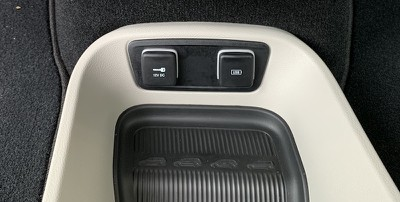 pacifica floor usb port