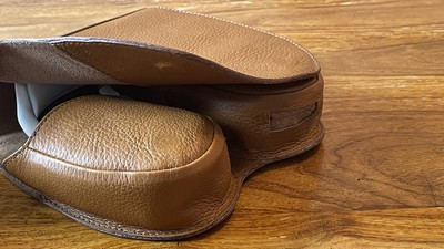 capra leather case review flap