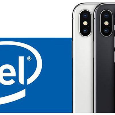 intel iphone x