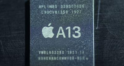 a13 chip video