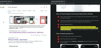 google search highlight