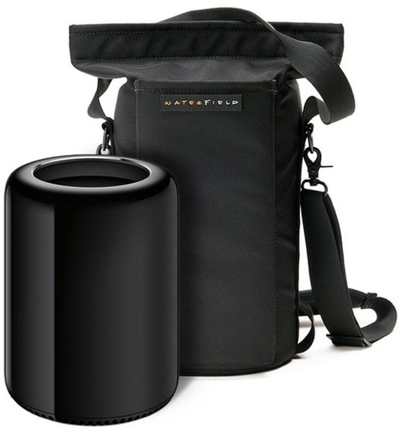 Mac Pro Trash Can Cylinder Waterfield Mac Pro Go Carrying Case SFBags 2013