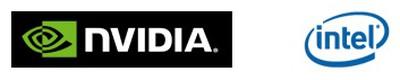 165954 nvidia intel logos