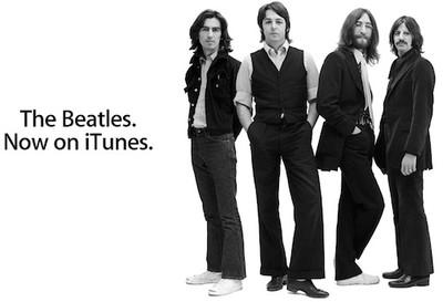 091736 beatles now on itunes