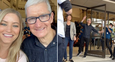apple tower theatre tim cook