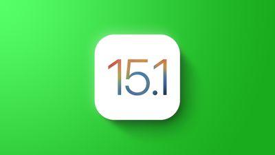 General iOS 15