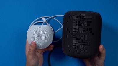 homepod mini regular homepod comparison
