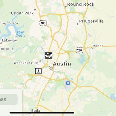 apple maps texas