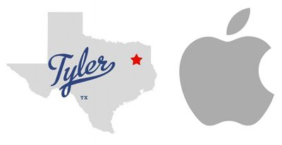 apple tyler texas logo