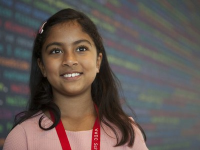 Anvitha Vijay 9-year-old developer