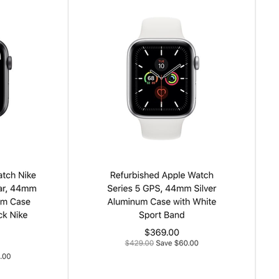 apple watch series 5 refurbished