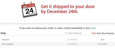 apple free next day shipping