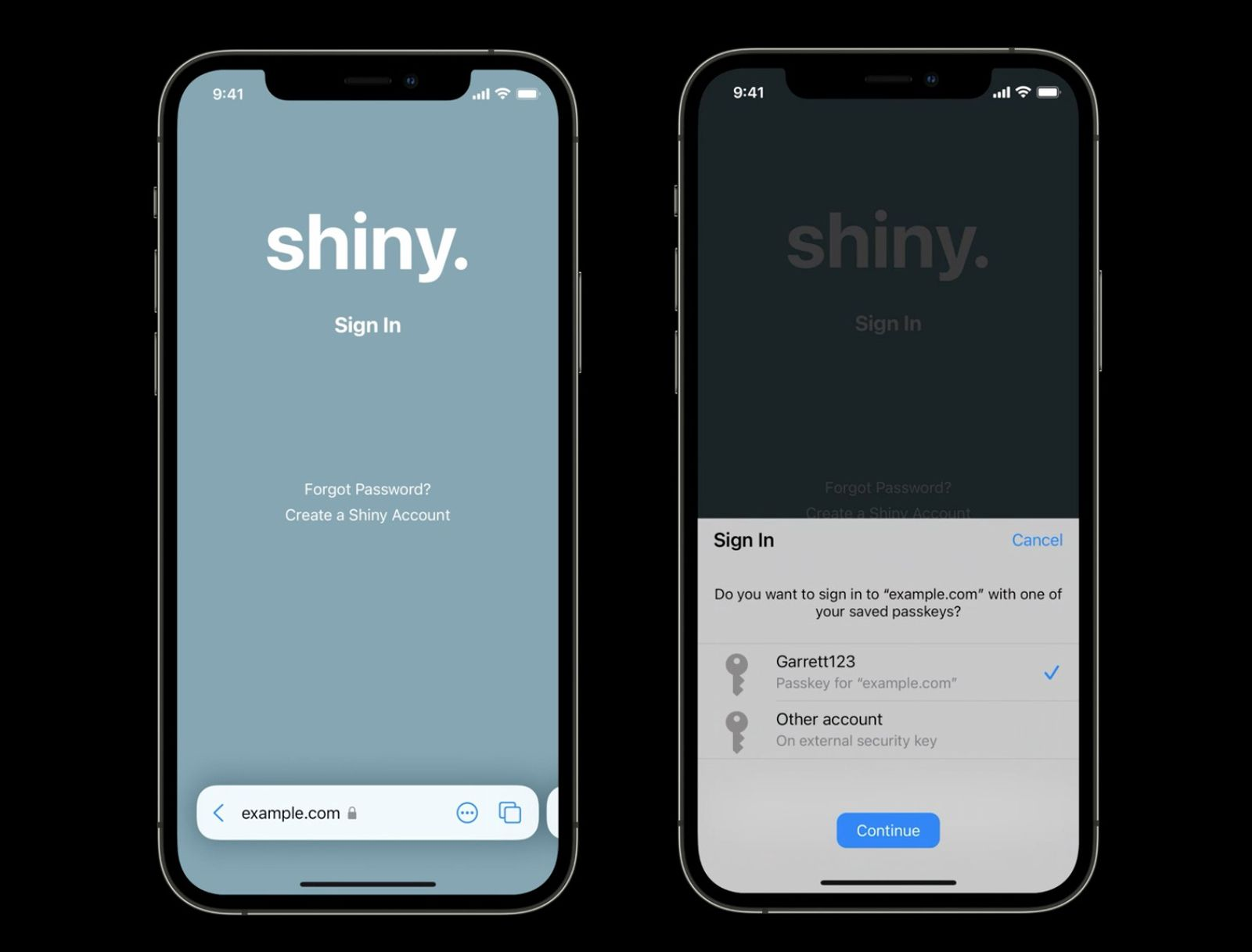 photo of Apple Aiming to Eliminate Passwords With Face ID/Touch ID Passkeys image
