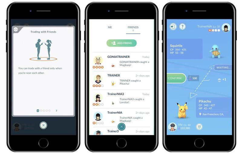 Add friends pokemon go