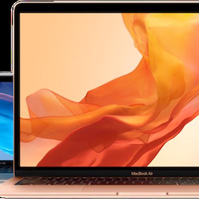macbook air trio transparent