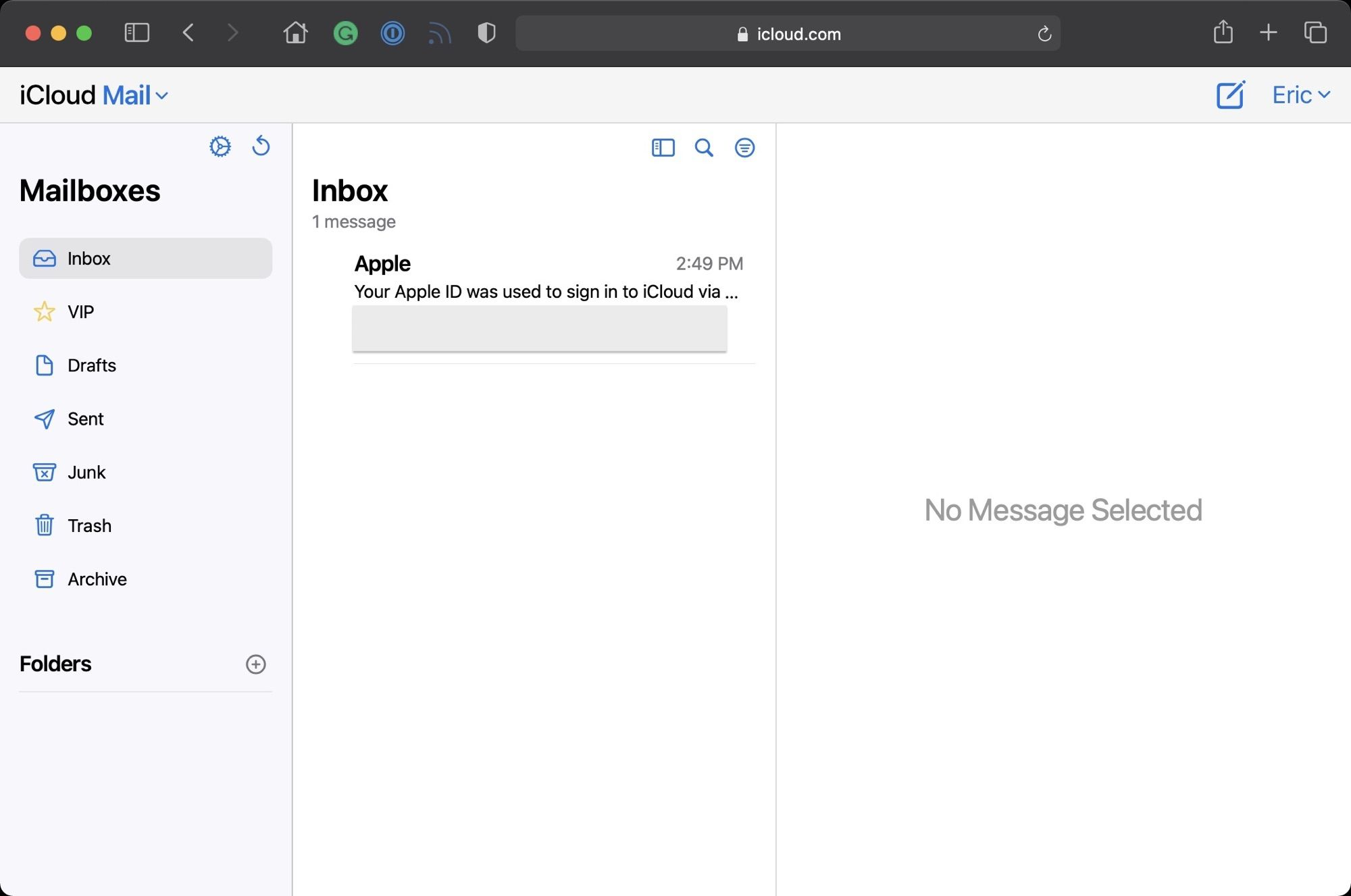 Web-Based iCloud Mail Redesign, Hide My Email, and Custom Domain Features Now Live - MacRumors