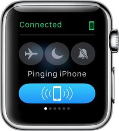 Apple Watch Ping 1