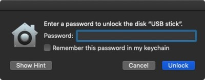 how to encrypt a usb stick in macos mojave 03