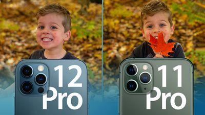 iPhone 11 Pro vs 12 Camera feature