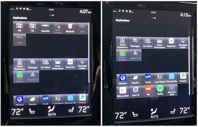 volvo s60 sensus apps