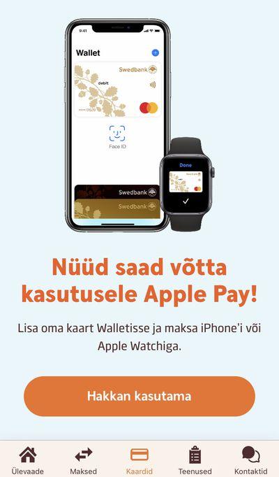 swedbank apple pay