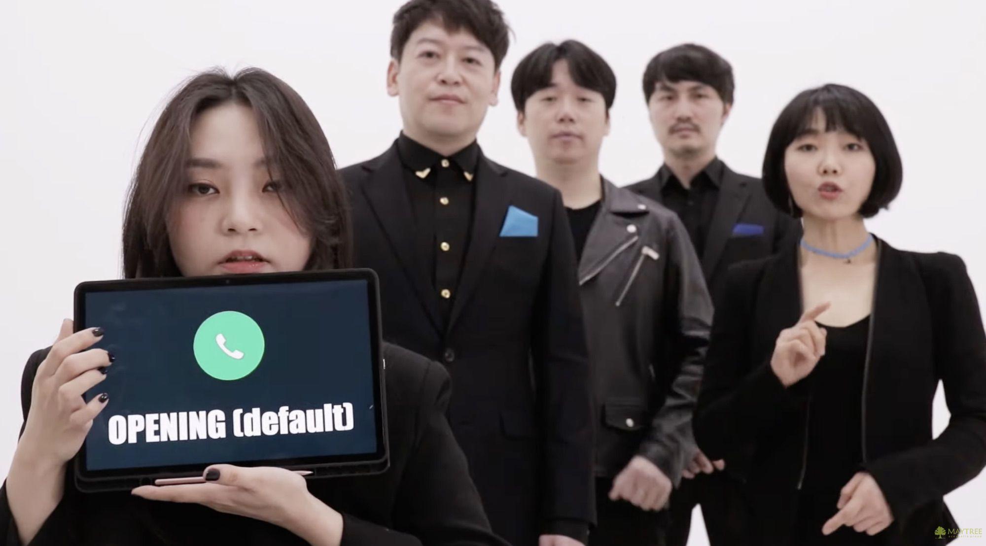 A Cappella Group Recreates Classic iPhone Ringtones