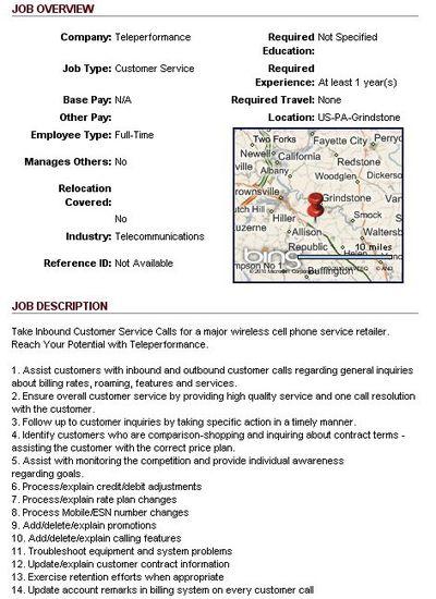 103228 teleperformance job posting